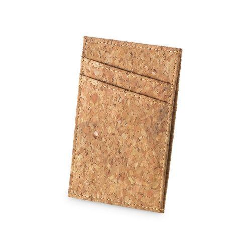 DANIEL. Porte-cartes en liège - ISOCOM - OBJETS ET TEXTILES PERSONNALISES - NANTES