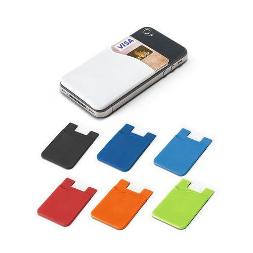 SHELLEY. Porte-cartes pour smartphone, Objet personnalisable, comité social économique