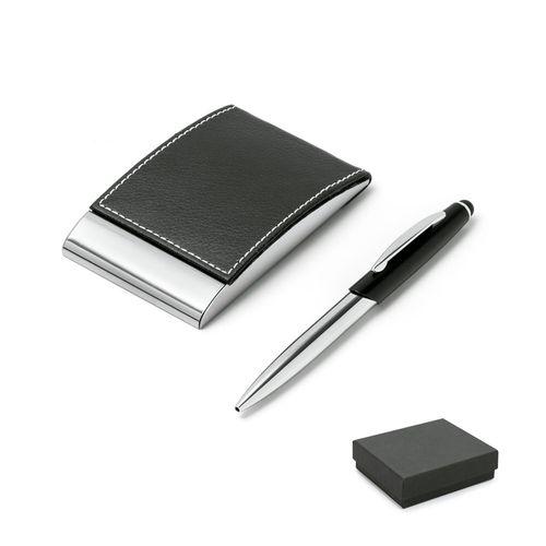 MURPHY. Ensemble stylo et porte-cartes, Objet personnalisable, comité social économique