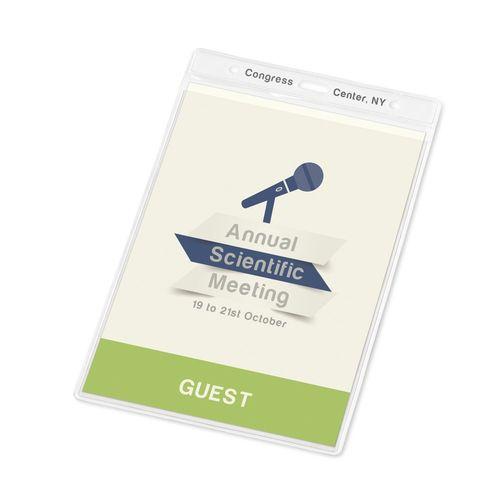 WHITMAN. porte-badge vertical, Objet personnalisable, comité social économique