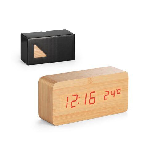 DARWIN. Horloge de table en MDF, Objet personnalisable, comité social économique