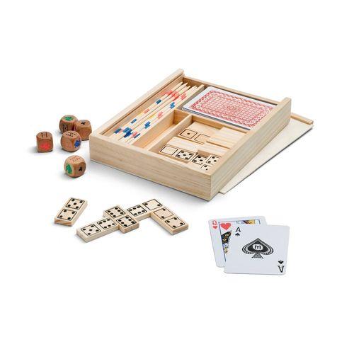PLAYTIME. Set de jeux 4 en 1, Objet personnalisable, comité social économique