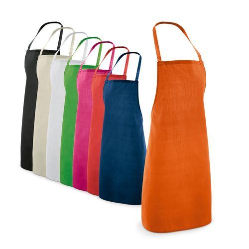 CURRY. Tablier en coton et polyester, Objet personnalisable, comité social économique