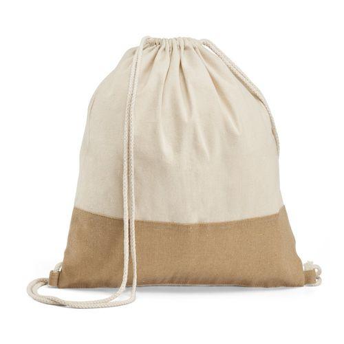 SABLON. Sac type sac-à-dos 100% coton, Objet personnalisable, comité social économique