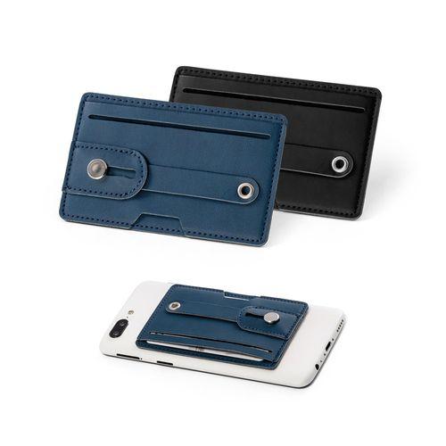 FRANCK. Porte-cartes pour smartphone avec sécurité RFID, Objet personnalisable, comité social économique