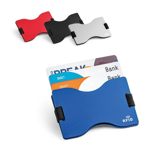 MULLER. Porte-cartes avec sécurité RFID, Objet personnalisable, comité social économique