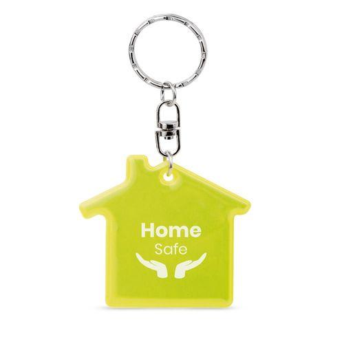 RESIDENCE. Porte-clés fluorescent, Objet personnalisable, comité social économique