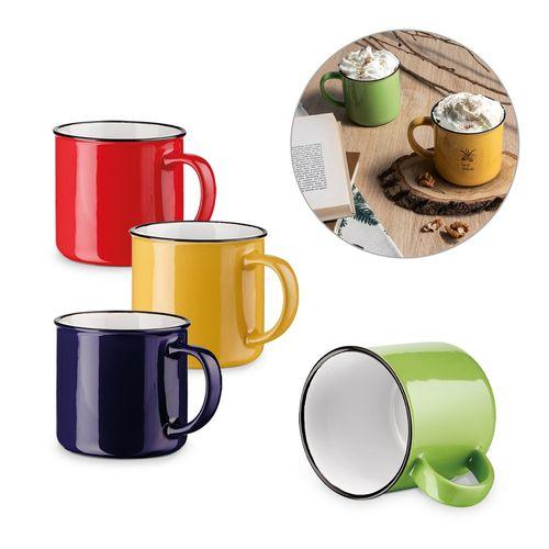 VERNON. Mug en céramique 360 ??ml, Objet personnalisable, comité social économique