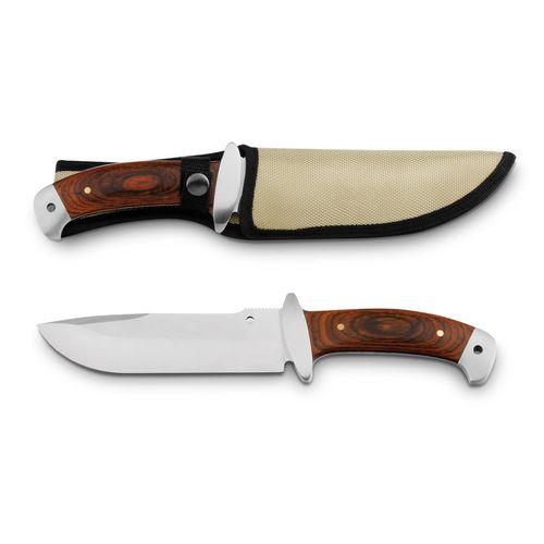 NORRIS. Couteau en acier inoxydable et bois, Objet personnalisable, comité social économique