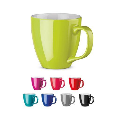 PANTHONY. Mug en porcelaine 450 ml, Objet personnalisable, comité social économique