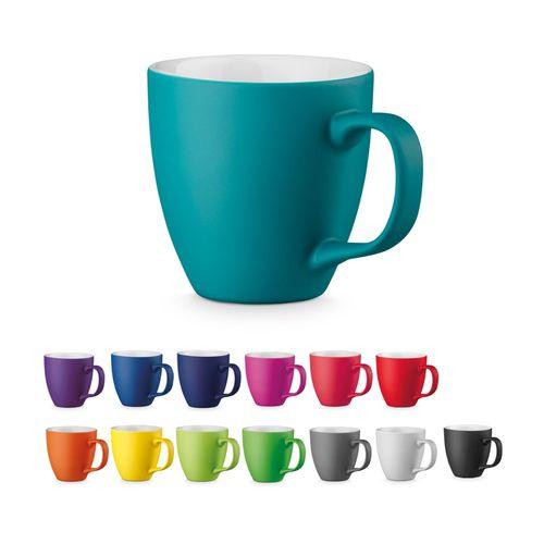 PANTHONY MAT. Mug en porcelaine 450 ml, Objet personnalisable, comité social économique