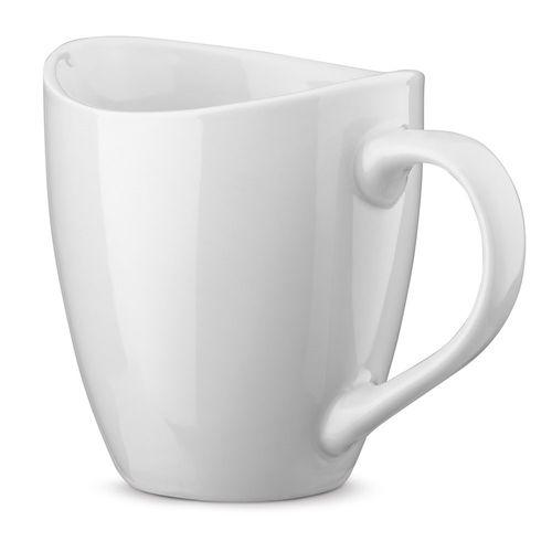 LISETTA. Mug en céramique 310 ml, Objet personnalisable, comité social économique