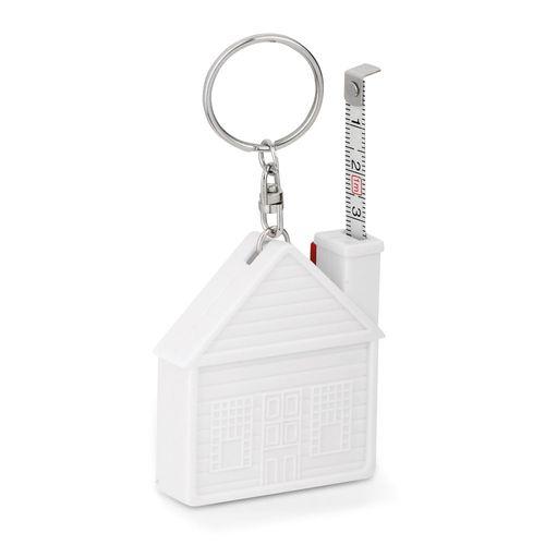 HOUSE. Porte-clés avec ruban à mesurer, Objet personnalisable, comité social économique
