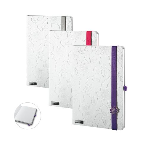 Lanybook Innocent Passion White. Bloc-notes