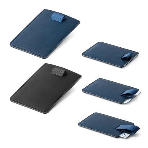 POPPY. Porte-cartes avec sécurité RFID, Objet personnalisable, comité social économique