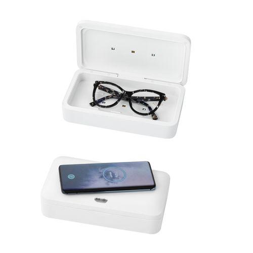 BACTOUT. Boîte de stérilisateur UV chargeur sans fil rapide