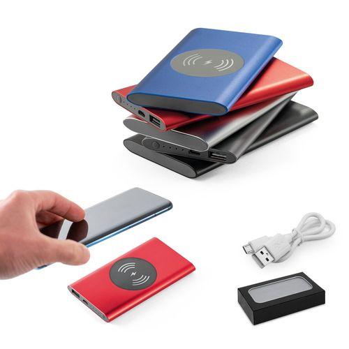 CASSINI. Batterie portable et chargeur sans fil, Objet personnalisable, comité social économique