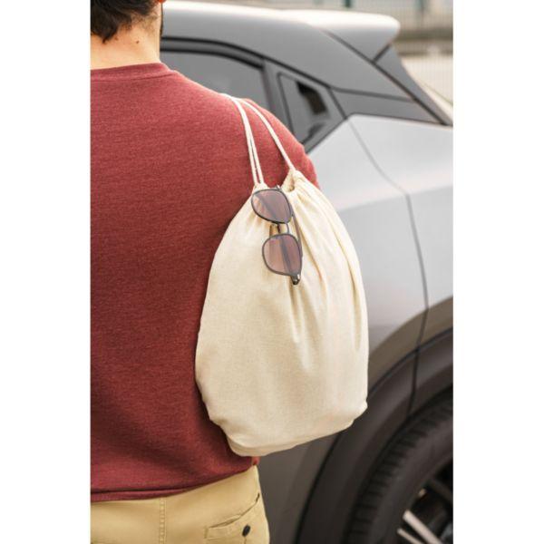 NAMPULA. Saco tipo mochila em algodão brindes LISBOA