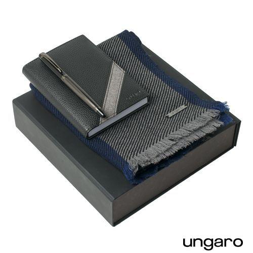 Parure Alesso (stylo roller, carnet A6 & écharpe)