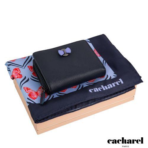 Parure Cacharel (portefeuille porte-monnaie & foulard soie)