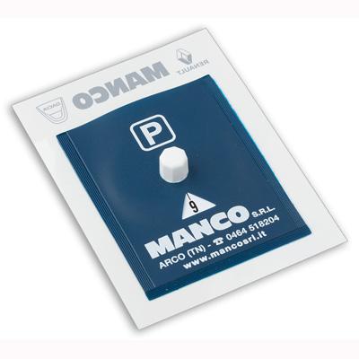 disque de stationnement plastique