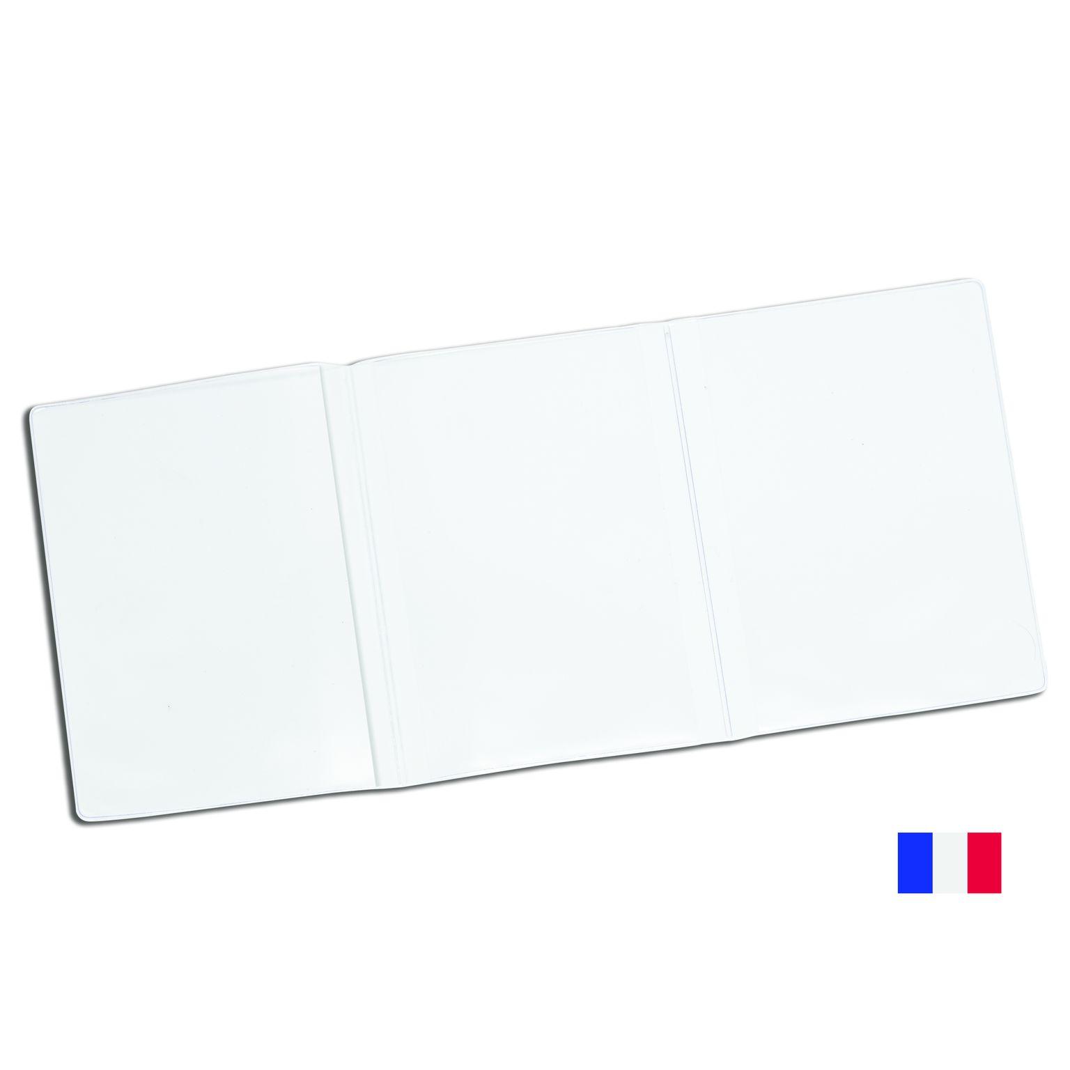 Étui en cristal à 3 volets pour carte grise française