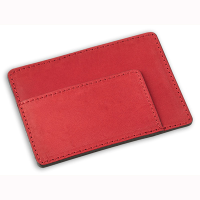 Porte carte de crédit en cuir