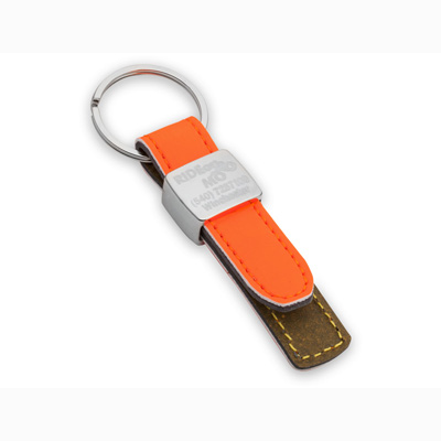 Porte-clés Extro (orange fluo ou vert fluo)