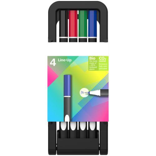 Line-Up, boîte à 4 stylos