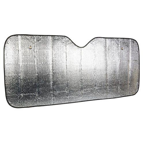 Pare-soleil pour auto, une feuille d aluminium sur les deux cotes (avec deux ventouses)