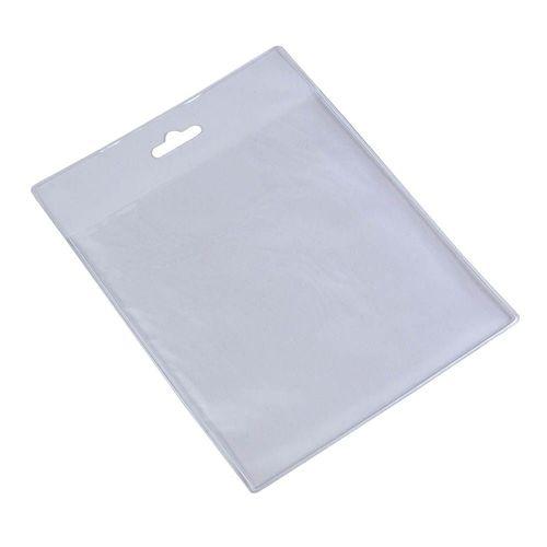 Porte-badge en plastique transparent