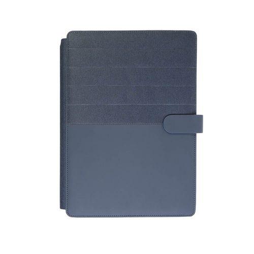 Conférencier avec cahier et porte-tablette