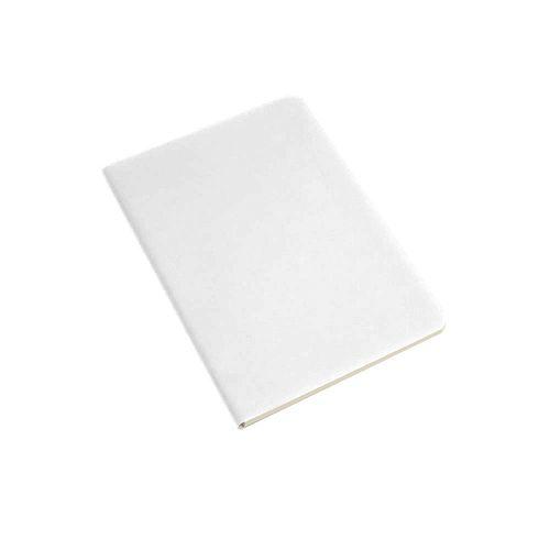 Cahier en PU souple avec papier de couleur ivoire