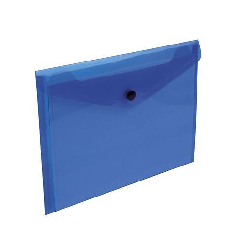 Porte-documents en PP 150 avec 1 poche et fermeture à clip (A5)