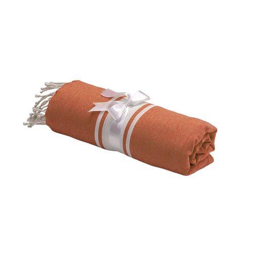Drap de plage /pareo style Fouta 90% coton 10% polyester avec frange, mesure 90x170 cm