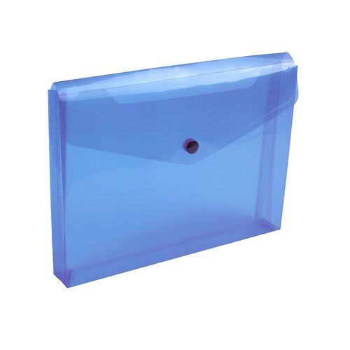 Porte-documents en PP 150 avec 1 poche et fermeture à clip (A5), avec soufflet