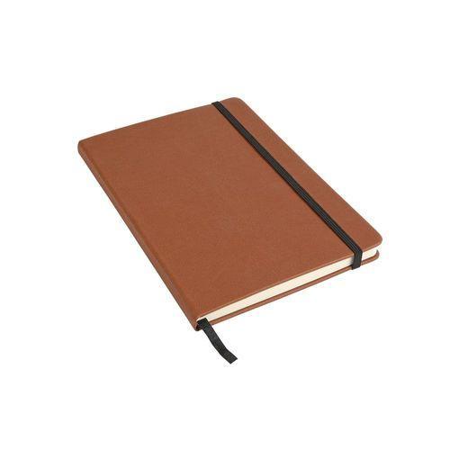 Cahier en PU avec papier de couleur ivoire