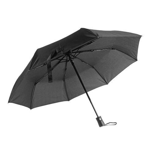 Mini-parapluie automatique, en tissue de soie naturelle, gaine