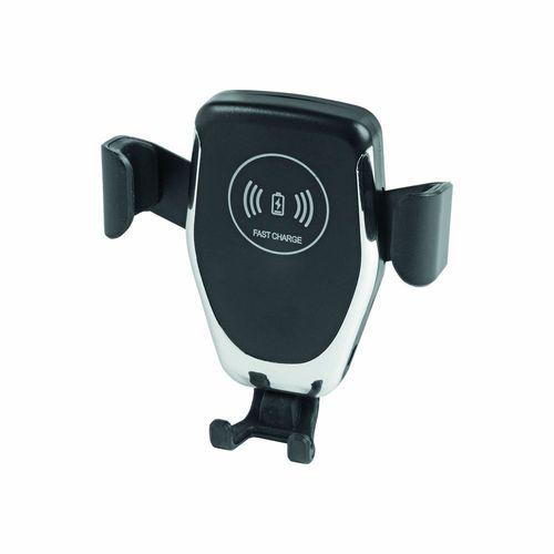 Support téléphone portable pour voiture avec chargeur wireless