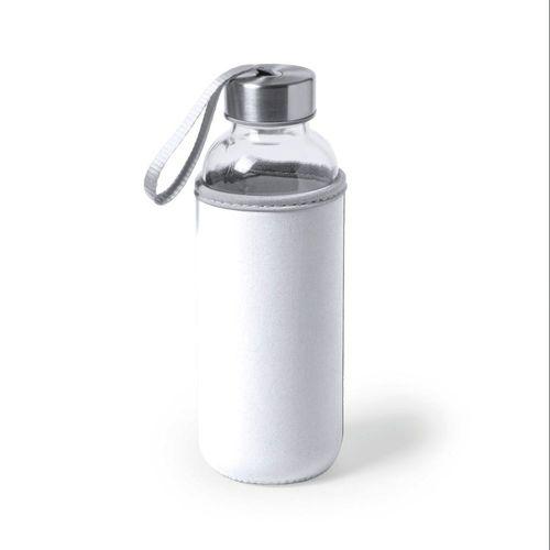 Gourde en verre avec bouchon en acier, 500 ml