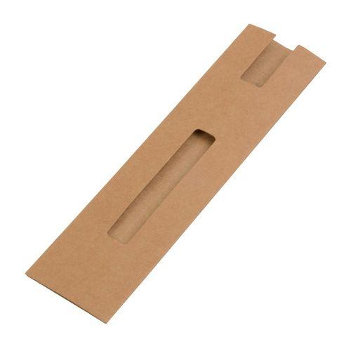 Etui simple en papier recyclé
