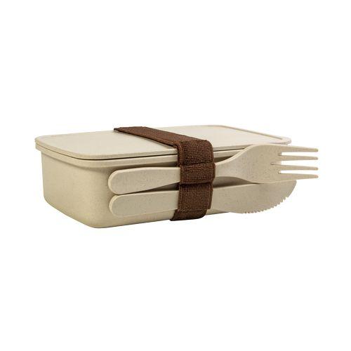 Lunch box en fibre de bambou et PP