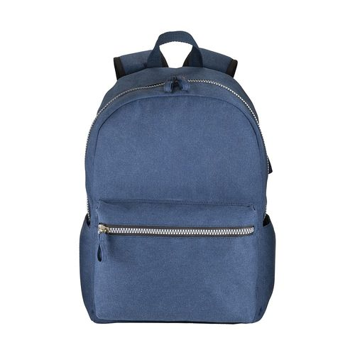 Sac a dos porte PC en Canva effect stone washed