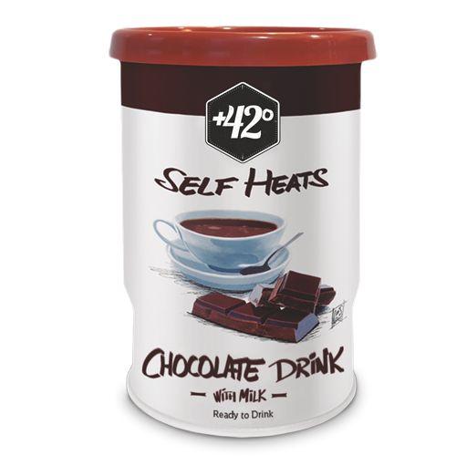 20,5cl Chocolat. Autochauffant avec couverture complète