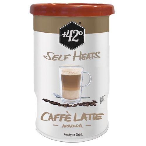 20,5cl Caffe Latte. Autochauffant avec couverture complete