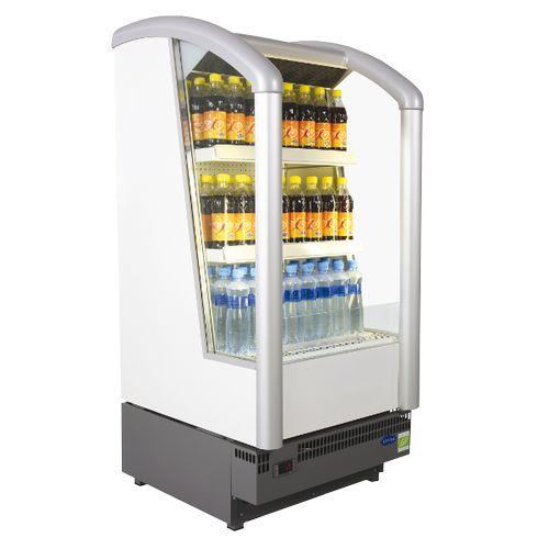 Réfrigérateur ouvert. Pour location ou vente. 100l - 206 canettes aprox.