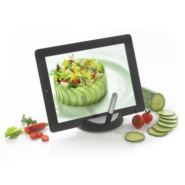 Support à tablette avec stylet Chef, Objet personnalisable, comité social économique