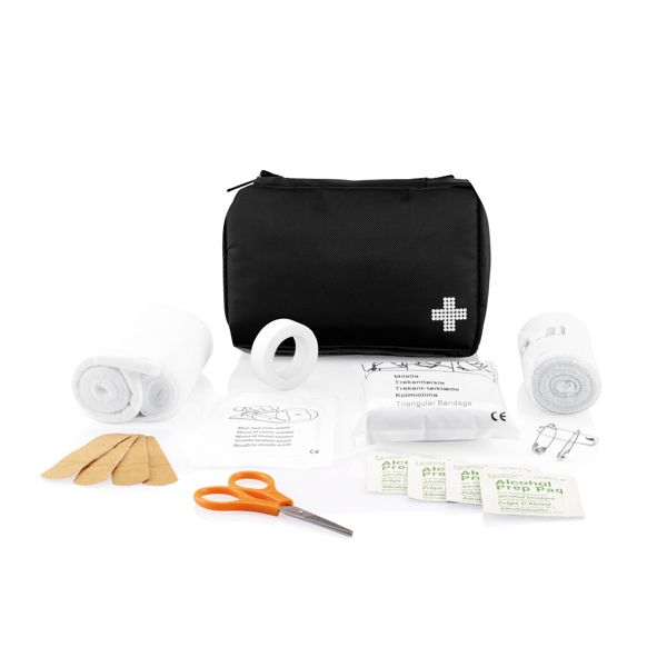 Kit de premiers soins de la taille d'une enveloppe, Objet personnalisable, comité social économique