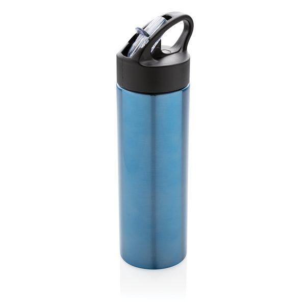 Bouteille d'eau avec paille Sport, Objet personnalisable, comité social économique