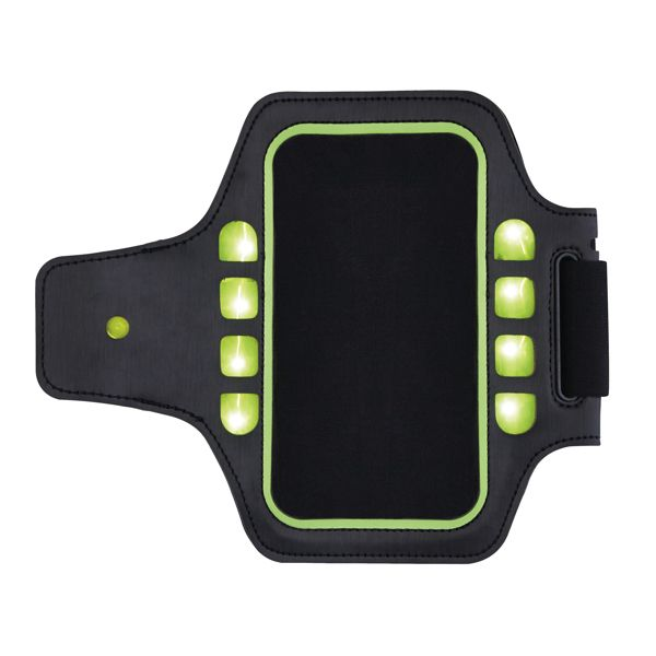 Brassard sport avec LED - ISOCOM - OBJETS ET TEXTILES PERSONNALISES - NANTES